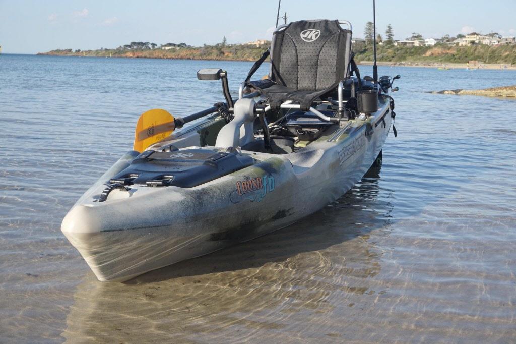 Coosa Fd Pedal Fishing Kayak